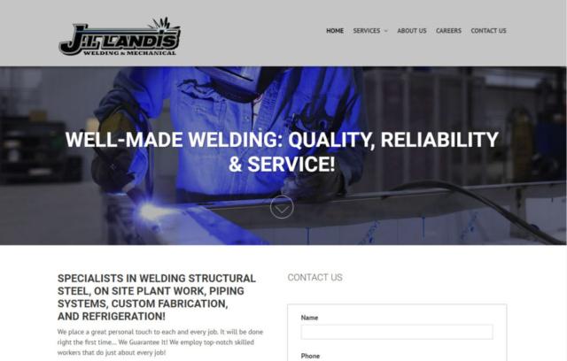 landis welding